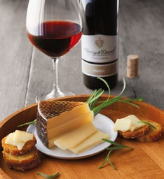 Spanish Roblevilla Manchego Cheese and Harry & David™ Merlot