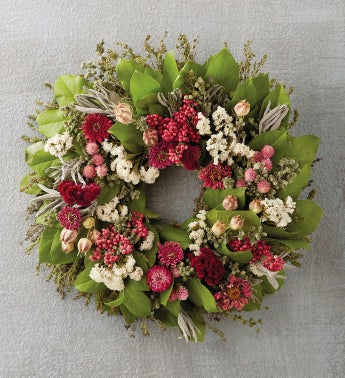 Spring Pink Wreath