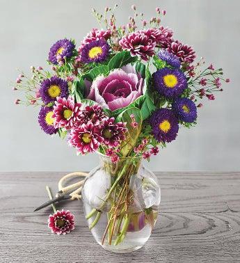 Vibrant Brassica Bouquet SnipeImage