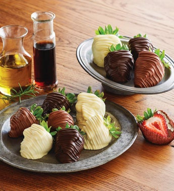 Savory Infused Chocolate-Covered Strawberries