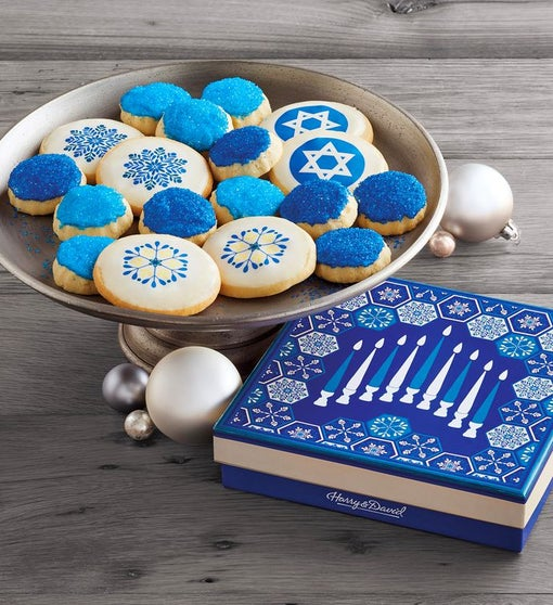 Hanukkah Cookie Box
