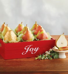 Royal Riviera® Pears Christmas Crate