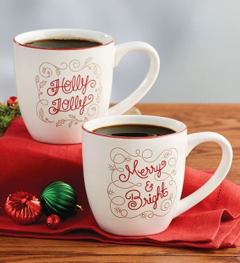 Merry and Bright Mug Set