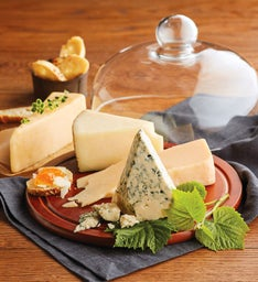 Gourmet Cheese Collection with Dome