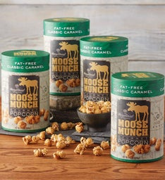 Fat-Free Moose Munch® Milk Chocolate Premium Popcorn 4-Pack