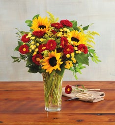 Harvest Sunflower Bouquet