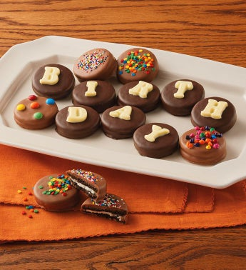 Birthday Chocolate-Covered Cookies