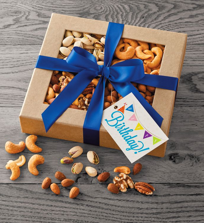 Happy Birthday Nut Gift Box