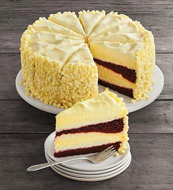 The Cheesecake Factory® Ultimate Red Velvet Cake Cheesecake™ - 10""