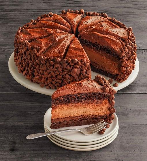 The Cheesecake Factory® HERSHEY'S® Chocolate Bar Cheesecake - 10