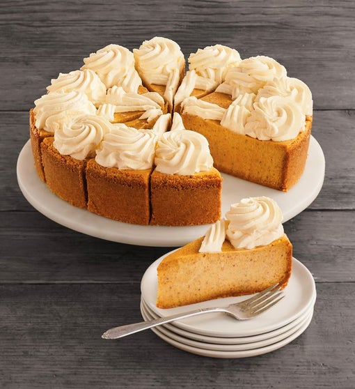 The Cheesecake Factory® Pumpkin Cheesecake - 10