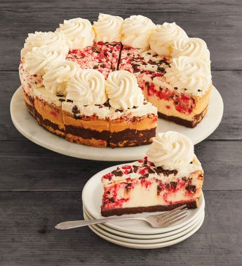 The Cheesecake Factory® Peppermint Bark Cheesecake - 10""