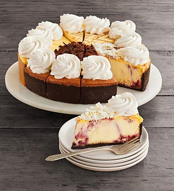 The Cheesecake Factory® Sampler Cheesecake - 10""