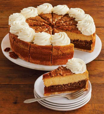 The Cheesecake Factory174 Pumpkin Pecan Cheesecake - 1034
