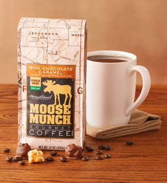 Decaf Moose Munch174 Caramel Coffee