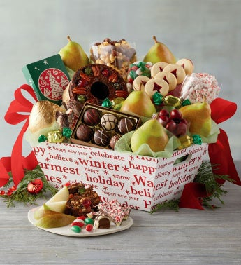 3-Month Presidential Gift Basket Fruit-of-the-Month Club174 Collection Begins in December