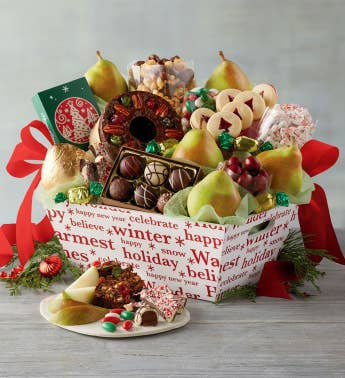 12-Month Presidential Gift Basket Fruit-of-the-Month Club174 Collection Begins in December