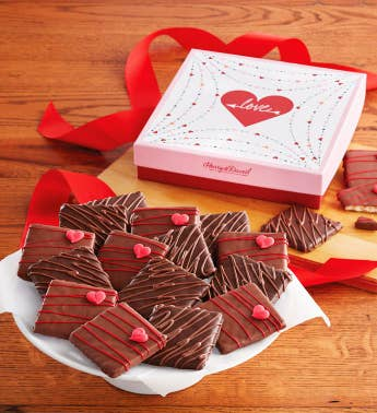 Valentine39s Day Chocolate-Covered Grahams