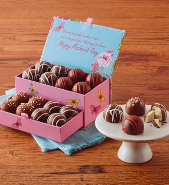 Mother's Day Keepsake Box with Chocolate Truffles