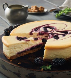Marionberry Cheesecake