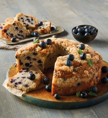Wolferman39s174 Blueberry Coffee Cake