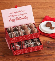 Valentine's Day Truffles in Keepsake Box