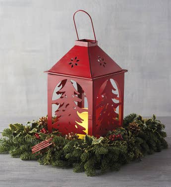 Holiday Lantern Centerpiece