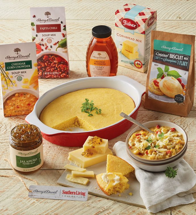 Southern Living Soup, Cornbread, and Biscuits Gift