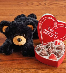 Plush Bear with Heavenly Hearts® Chocolates