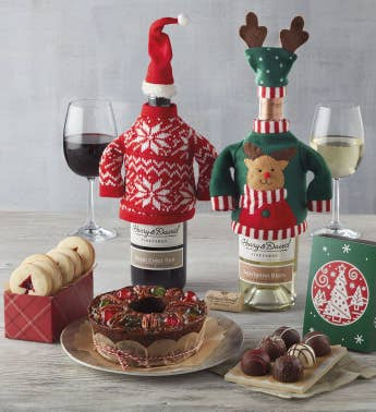 christmas sweater wine gift - Wine Christmas