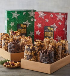 Moose Munch® Premium Popcorn Ultimate Holiday Gift Box