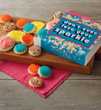 """Don't Ever Lose Your Sparkle"" Cookie Gift Box"