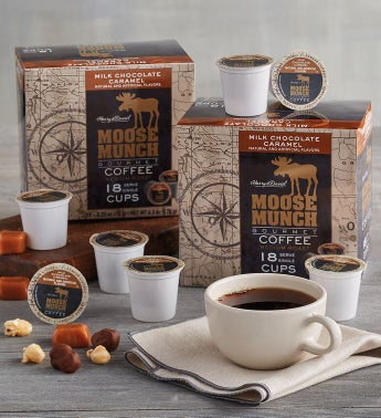 Moose Munch® Milk Chocolate Caramel Single-Serve Coffee Two-Pack