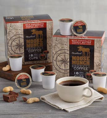Moose Munch174 Milk Chocolate Peanut Butter Single-Serve Coffee Two-Pack