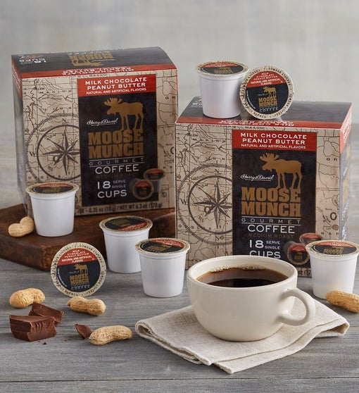 Moose Munch® Milk Chocolate Peanut Butter Single-Serve Coffee Two-Pack
