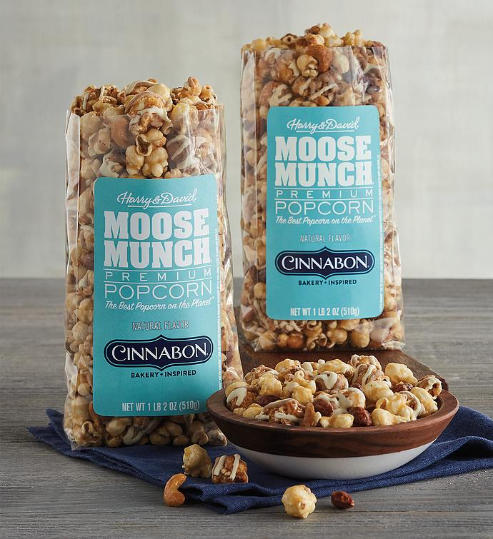 Moose Munch® Premium Popcorn Inspired by Cinnabon® - Duo