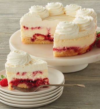 The Cheesecake Factory174 Lemon Raspberry Cream Cheesecake - 734 snipeImage
