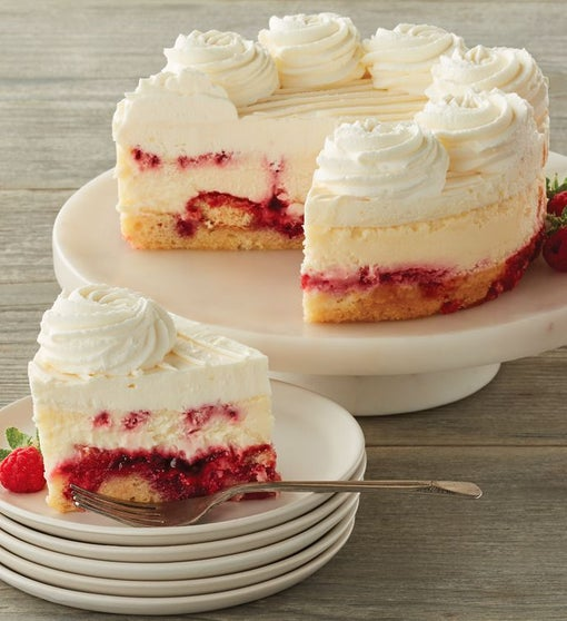 The Cheesecake Factory® Lemon Raspberry Cream Cheesecake - 7