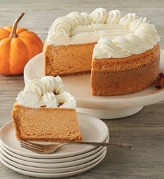 The Cheesecake Factory® Pumpkin Cheesecake - 7""