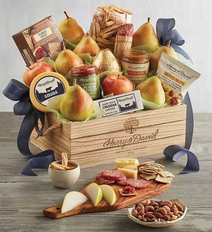 Grand Signature Gift Basket snipeImage & All Occasion Food u0026 Fruit Gift Baskets | Harry u0026 David