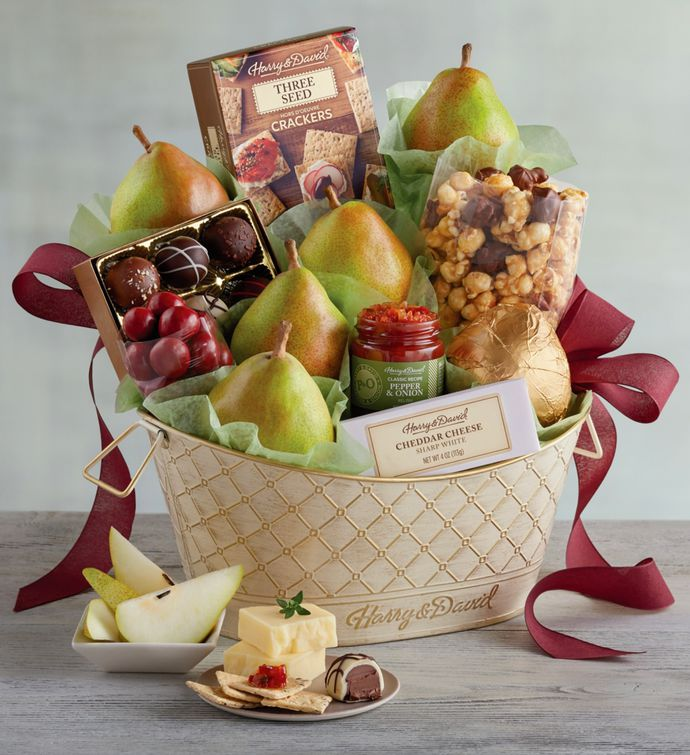 Classic Favorites Gift Basket snipeImage : delicious orchards gift baskets - medton.org
