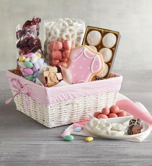 New Baby Girl Gift Basket