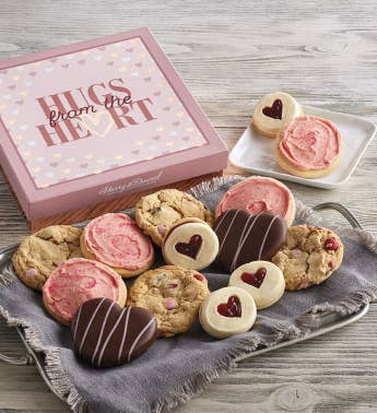 Valentine39s Day Cookie Gift Box