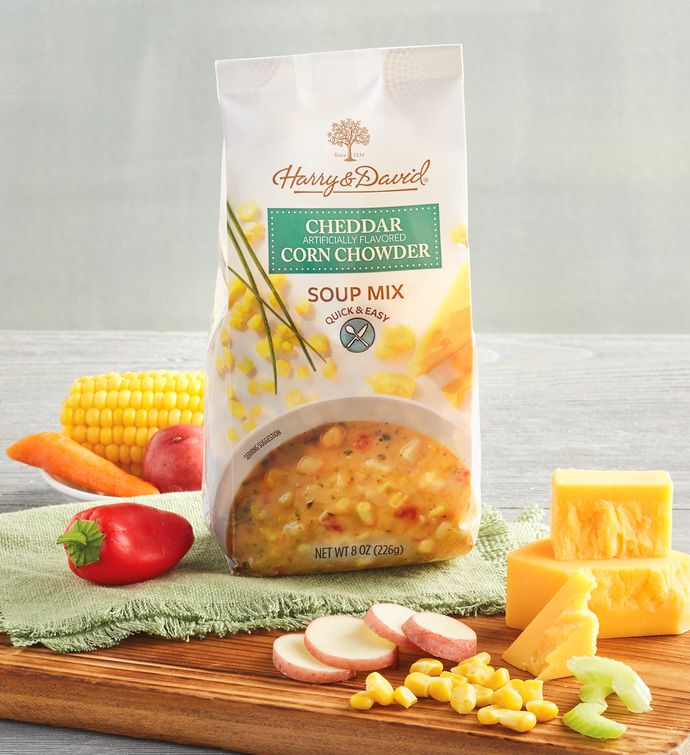 Cheddar Corn Chowder Soup Mix