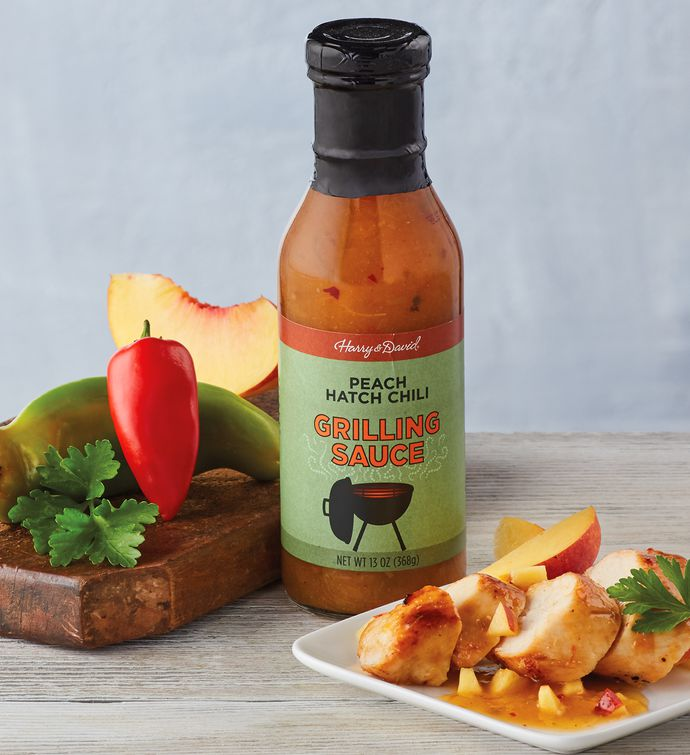 Peach Hatch Chili Grilling Sauce