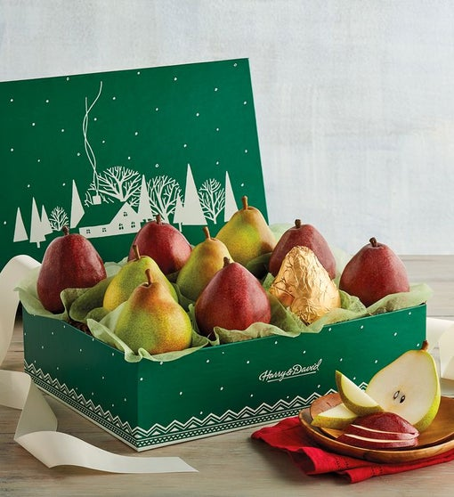 Colors of Christmas Pears