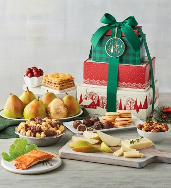 Tower of Treats® Deluxe Holiday Gift