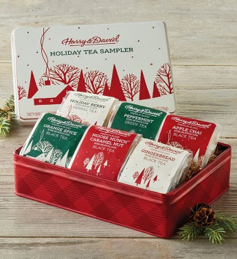 Holiday Tea Assortment Tin