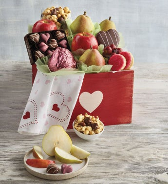 Deluxe Valentine39s Day Gift Basket