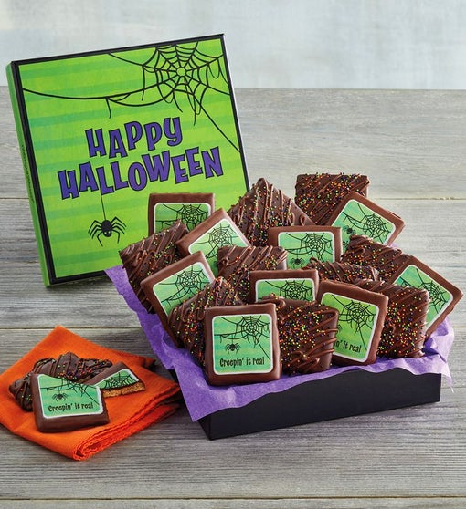Halloween Chocolate Grahams